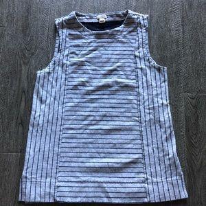 J. Crew striped sleeveless top